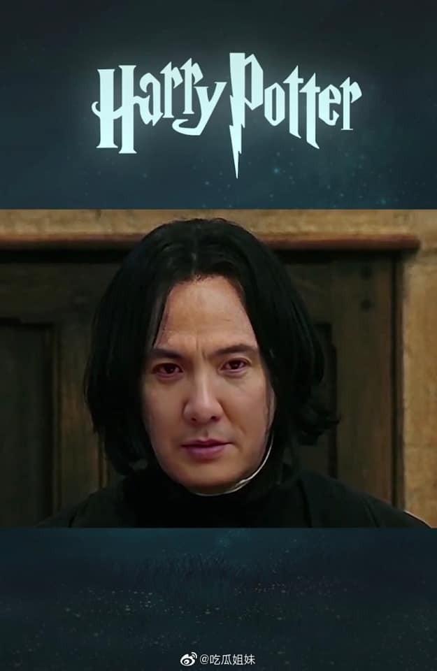 Fan lầy lội ghép mặt Thẩm Đằng vào giáo sư Severus Snape (Harry Potter) và cái kết bất ngờ ảnh 2