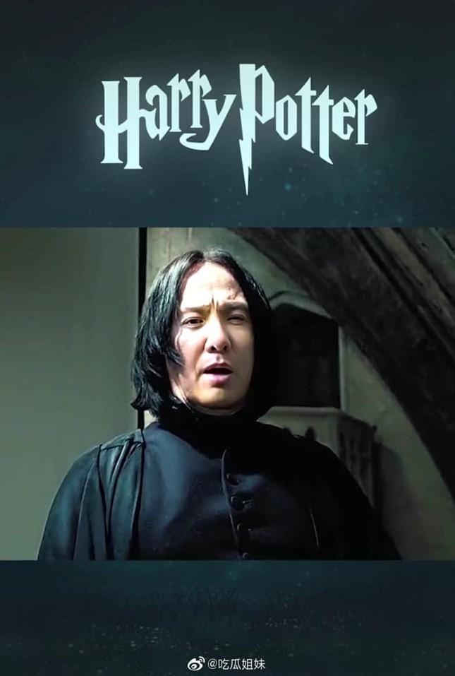 Fan lầy lội ghép mặt Thẩm Đằng vào giáo sư Severus Snape (Harry Potter) và cái kết bất ngờ ảnh 3
