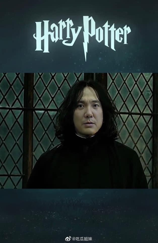 Fan lầy lội ghép mặt Thẩm Đằng vào giáo sư Severus Snape (Harry Potter) và cái kết bất ngờ ảnh 4