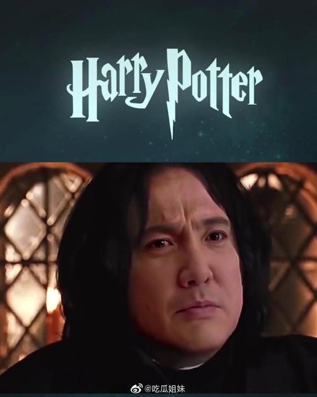 Fan lầy lội ghép mặt Thẩm Đằng vào giáo sư Severus Snape (Harry Potter) và cái kết bất ngờ ảnh 5