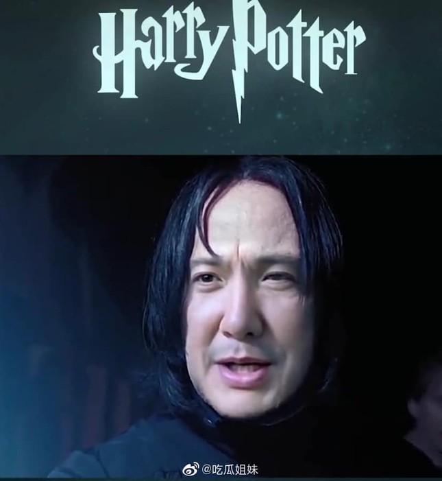 Fan lầy lội ghép mặt Thẩm Đằng vào giáo sư Severus Snape (Harry Potter) và cái kết bất ngờ ảnh 6
