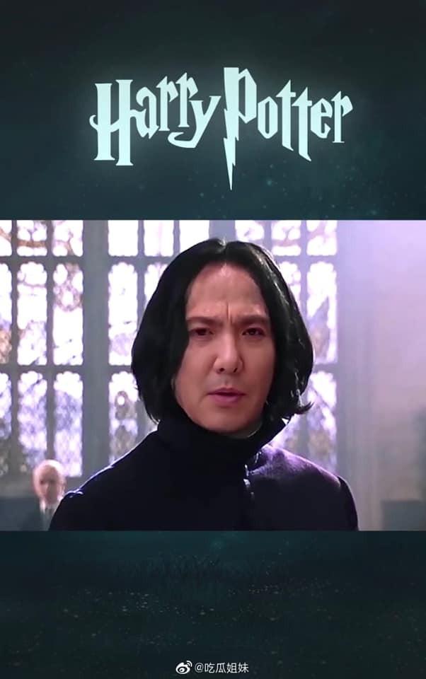 Fan lầy lội ghép mặt Thẩm Đằng vào giáo sư Severus Snape (Harry Potter) và cái kết bất ngờ ảnh 7