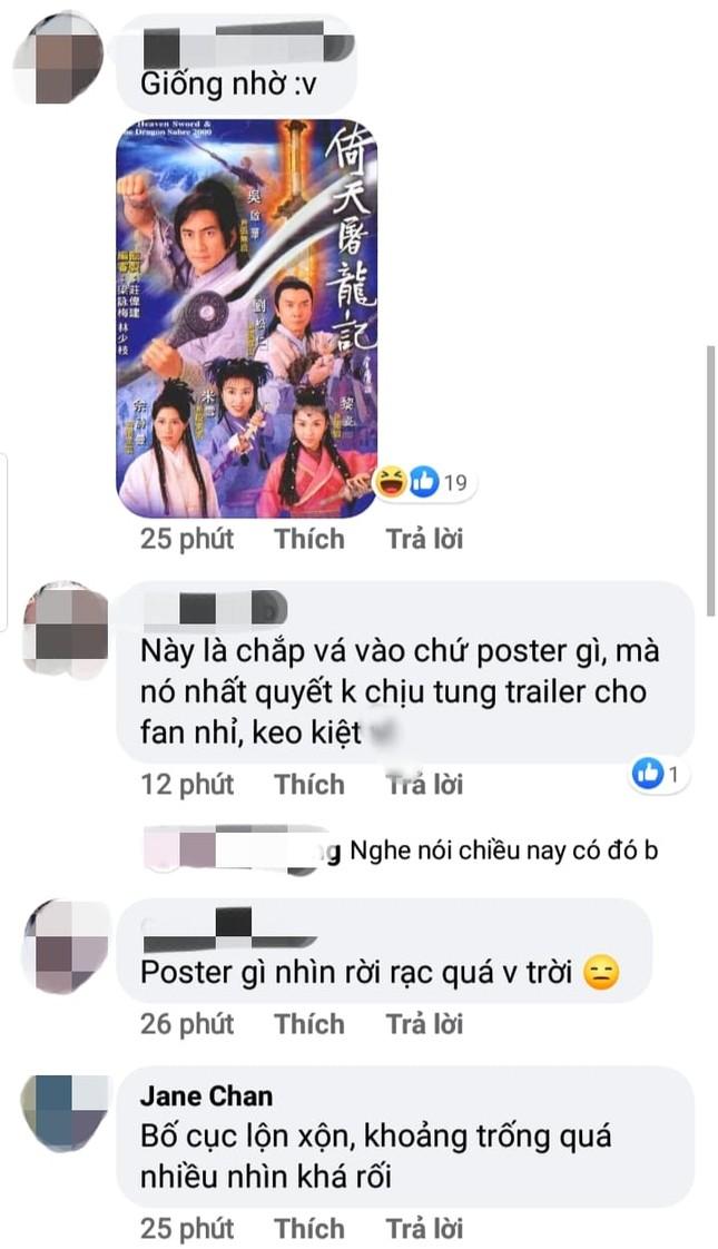 """Mãi mới có poster phim nhưng Hữu Phỉ lại bị chê quá """"phèn"""", cắt ghép không hề giả trân ảnh 2"""