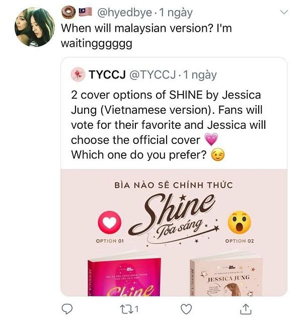 Tiểu thuyết đầu tay của Jessica Jung: Fan quốc tế lùng mua bản tiếng Việt ảnh 11
