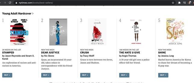 """Tiểu thuyết đầu tay """"Shine"""" của Jessica: Xuất sắc lọt top bán chạy New York Times ảnh 2"""