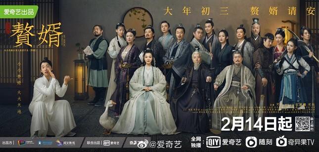 """Trương Nhược Quân làm cameo cực hài khi """"biến hình"""" thành Quách Kỳ Lân trong phim """"Ở Rể"""" ảnh 7"""
