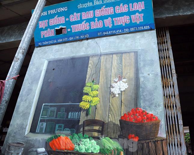 Mãn nhãn với làng bích họa siêu thực ngay tại Hà Nội ảnh 3