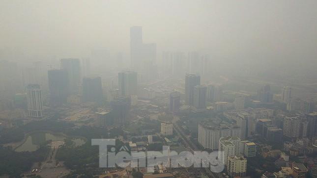Hà Nội lại chìm trong ô nhiễm, khuyến cáo người dân hạn chế ra đường ảnh 3