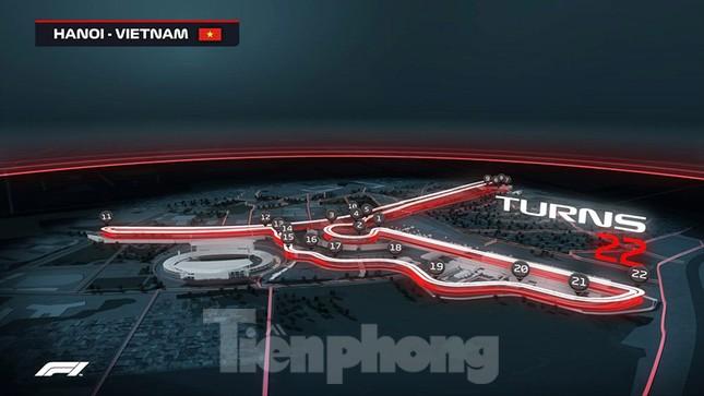 Bay trên đường đua F1 đang thành hình ở Hà Nội ảnh 1