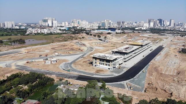 Bay trên đường đua F1 đang thành hình ở Hà Nội ảnh 9
