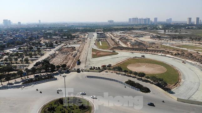 Bay trên đường đua F1 đang thành hình ở Hà Nội ảnh 14