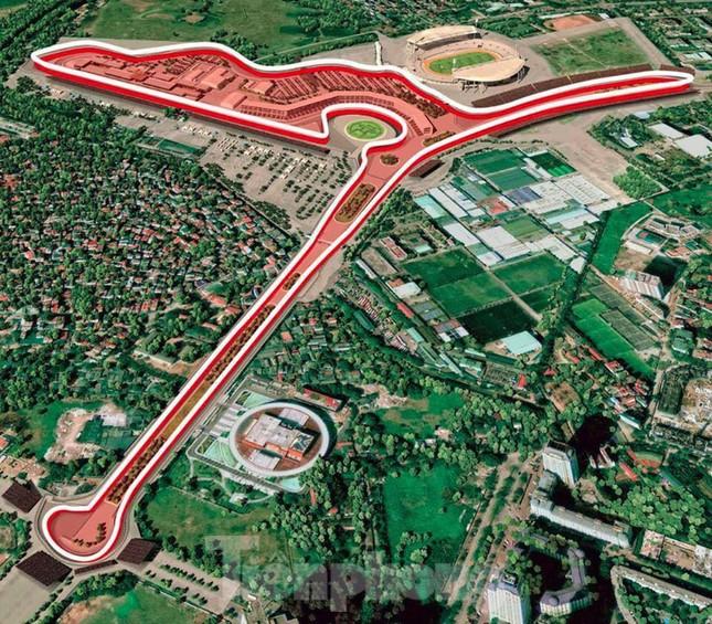 Bay trên đường đua F1 đang thành hình ở Hà Nội ảnh 15