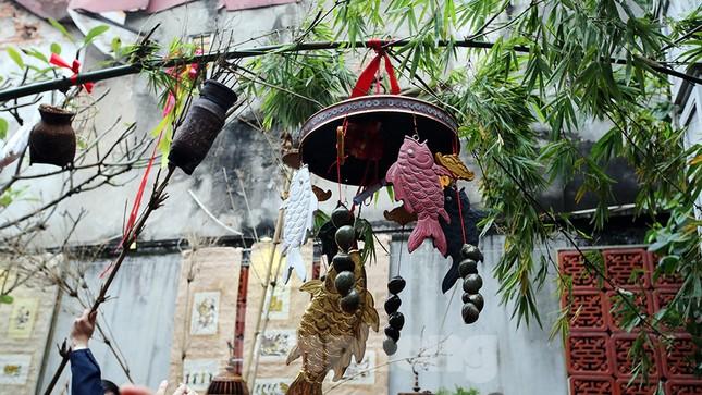 Rộn ràng lễ dựng Cây Nêu ở phố cổ Hà Nội ảnh 11