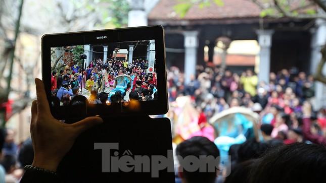 Rộn ràng lễ dựng Cây Nêu ở phố cổ Hà Nội ảnh 17