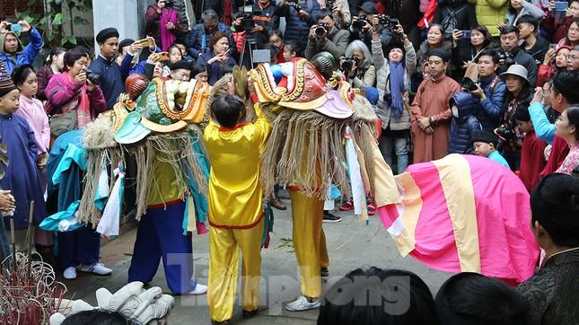 Rộn ràng lễ dựng Cây Nêu ở phố cổ Hà Nội ảnh 19