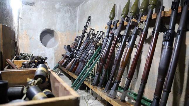 Bên trong hầm bí mật từng chứa hàng tấn vũ khí của biệt động Sài Gòn ảnh 4