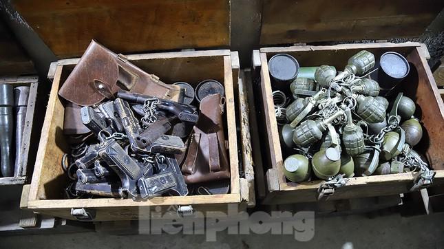 Bên trong hầm bí mật từng chứa hàng tấn vũ khí của biệt động Sài Gòn ảnh 7