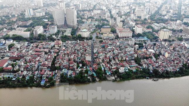 Cận cảnh nơi dự kiến xây dựng cầu Trần Hưng Đạo nối quận Long Biên - Hoàn Kiếm ảnh 5
