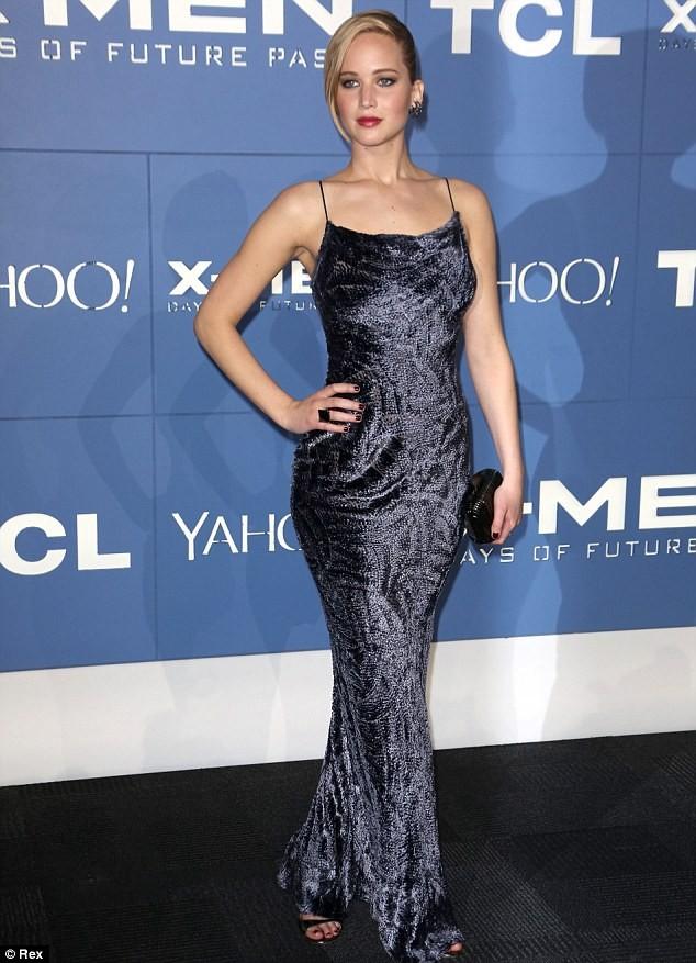 Phạm Băng Băng, Jennifer Lawrence lộng lẫy dự lễ ra mắt phim ảnh 1