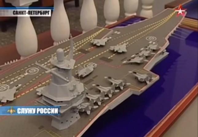 Hé lộ chi tiết về siêu tàu sân bay Nga sắp đóng ảnh 2