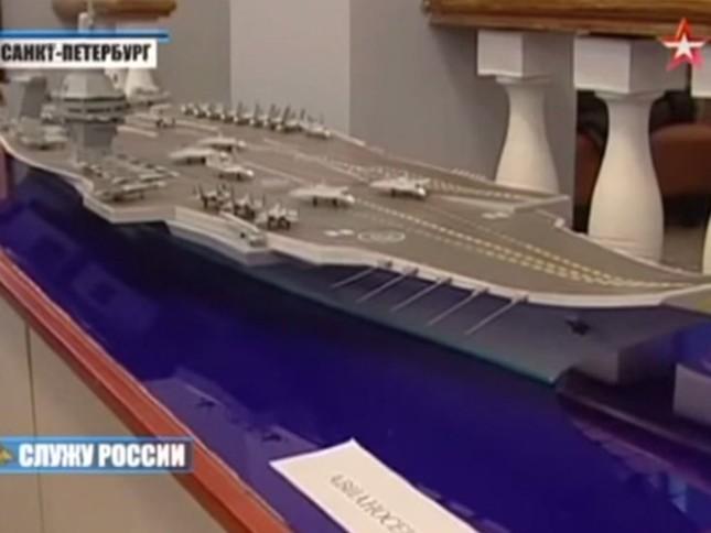 Hé lộ chi tiết về siêu tàu sân bay Nga sắp đóng ảnh 3