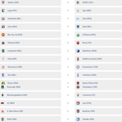 M.U dễ thở ở vòng 1/16 Europa League ảnh 1