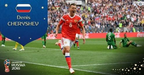 Nga thắng Saudi Arabia '5 sao' ở trận khai mạc World Cup ảnh 28