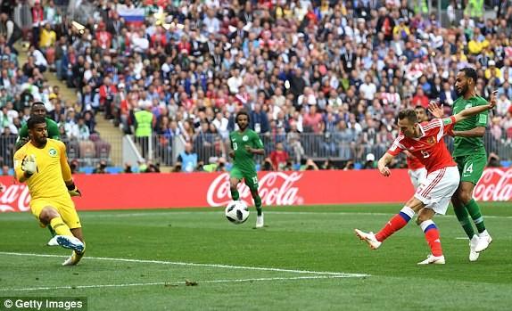 Nga thắng Saudi Arabia '5 sao' ở trận khai mạc World Cup ảnh 26
