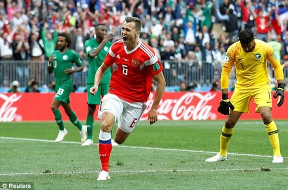 Nga thắng Saudi Arabia '5 sao' ở trận khai mạc World Cup ảnh 27