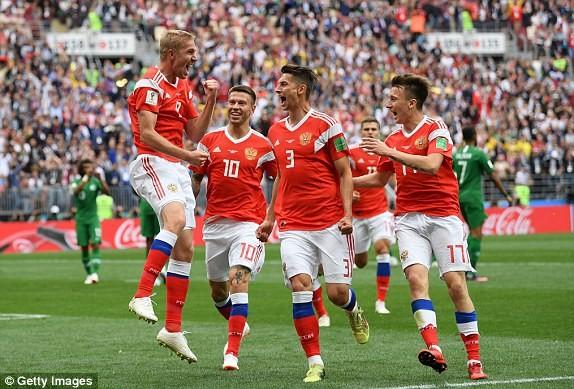 Nga thắng Saudi Arabia '5 sao' ở trận khai mạc World Cup ảnh 22