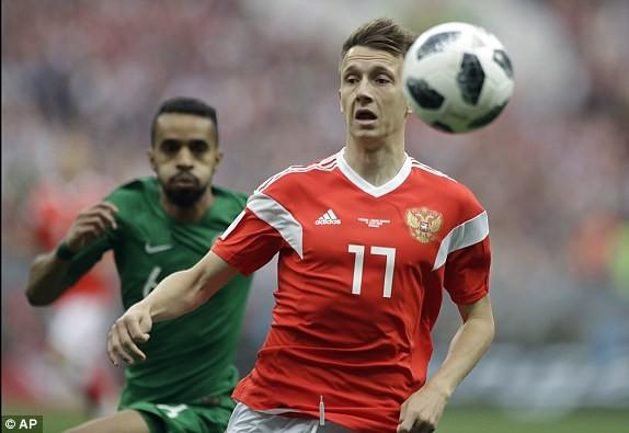 Nga thắng Saudi Arabia '5 sao' ở trận khai mạc World Cup ảnh 21