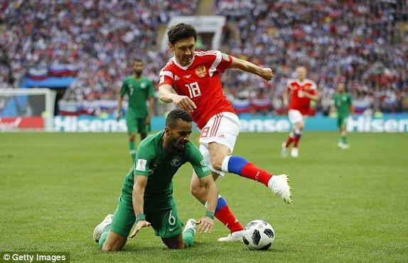 Nga thắng Saudi Arabia '5 sao' ở trận khai mạc World Cup ảnh 33