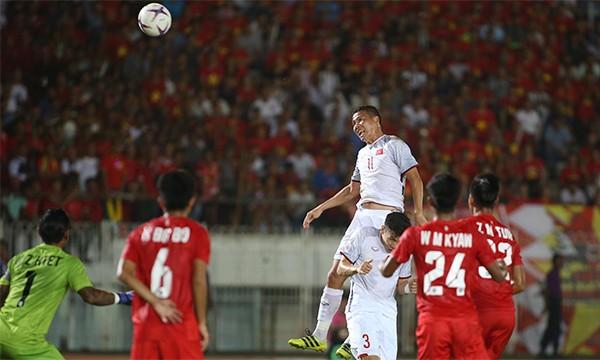 Văn Toàn bị từ chối bàn thắng, Việt Nam chia điểm với Myanmar ảnh 18