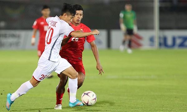 Văn Toàn bị từ chối bàn thắng, Việt Nam chia điểm với Myanmar ảnh 16