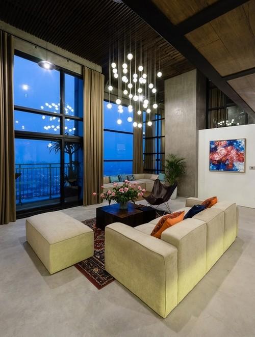 Căn hộ 2 tầng đẹp miễn chê trong tòa nhà cao nhất Việt Nam ảnh 7