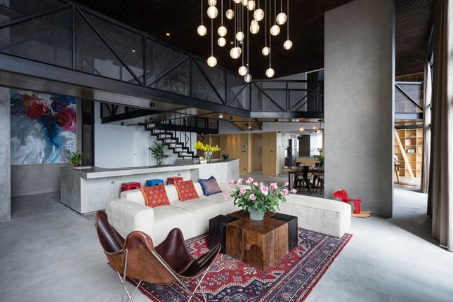Căn hộ 2 tầng đẹp miễn chê trong tòa nhà cao nhất Việt Nam ảnh 6