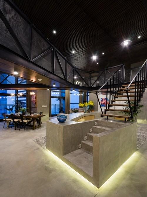 Căn hộ 2 tầng đẹp miễn chê trong tòa nhà cao nhất Việt Nam ảnh 4