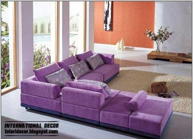 Ngôi nhà mơ mộng với đồ nội thất màu tím ảnh 1
