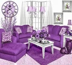 Ngôi nhà mơ mộng với đồ nội thất màu tím ảnh 3