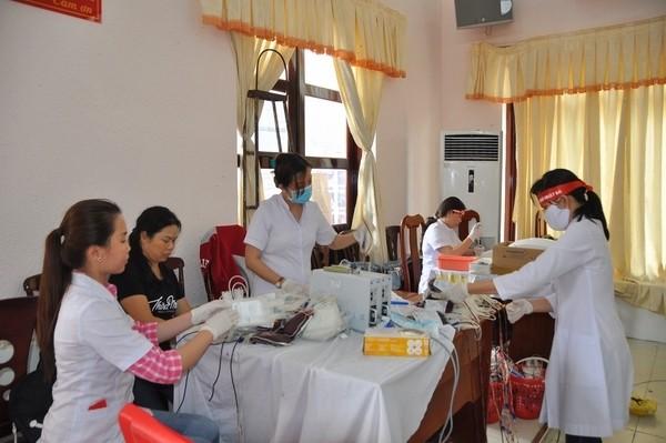 Nhiều tấm gương đẹp ở ngày hội hiến máu Kiên Giang ảnh 5