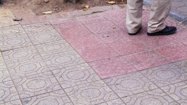 Cận cảnh 'chiếc áo vá' hơn 20 loại gạch, đá được lát ở Hồ Gươm ảnh 4
