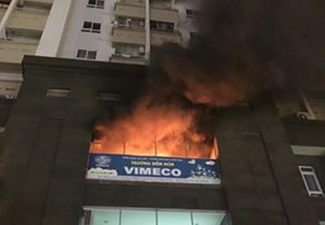 Điểm lại những vụ cháy chung cư xảy ra tại Hà Nội ảnh 5
