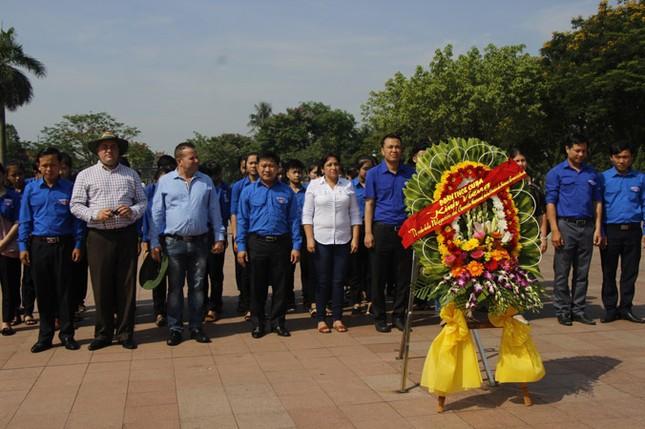 Đoàn đại biểu cấp cao T.Ư Đoàn TNCS Cuba thăm Quảng Trị ảnh 2