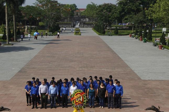 Đoàn đại biểu cấp cao T.Ư Đoàn TNCS Cuba thăm Quảng Trị ảnh 3