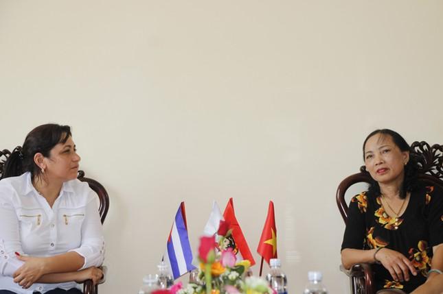 Đoàn đại biểu cấp cao T.Ư Đoàn TNCS Cuba thăm Quảng Trị ảnh 9