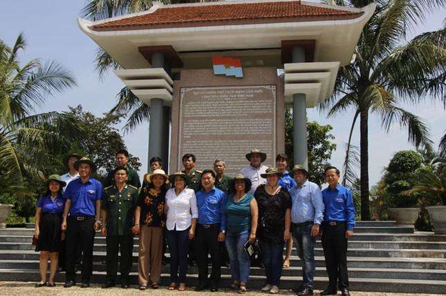 Đoàn đại biểu cấp cao T.Ư Đoàn TNCS Cuba thăm Quảng Trị ảnh 11