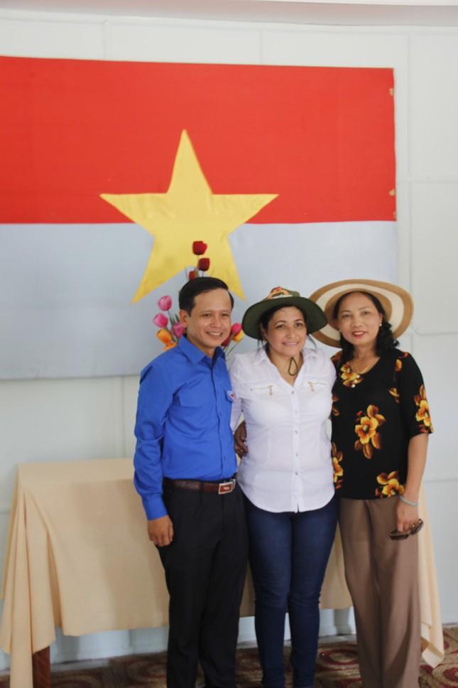 Đoàn đại biểu cấp cao T.Ư Đoàn TNCS Cuba thăm Quảng Trị ảnh 14