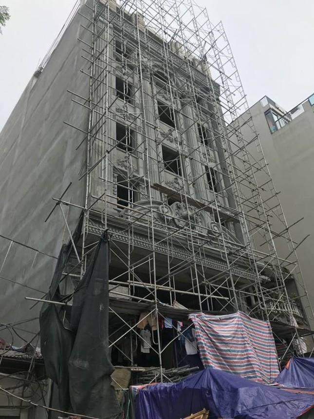 Quận trung tâm Hà Nội bùng phát nhà sai phép kiểu mới ảnh 2