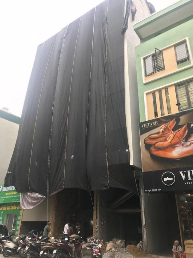 Quận trung tâm Hà Nội bùng phát nhà sai phép kiểu mới ảnh 1