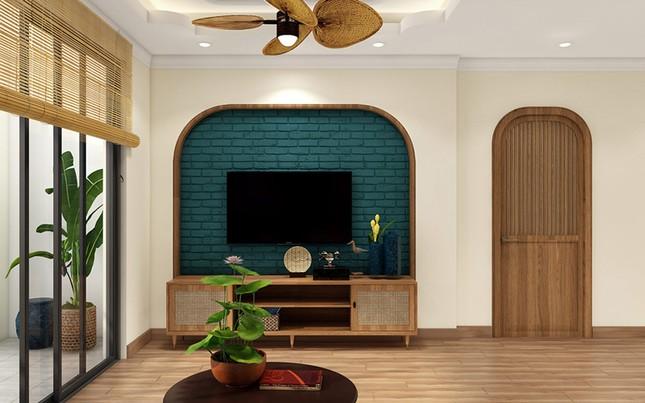 Nội thất tre gỗ giúp ngôi nhà đượm chất hoài cổ nhưng vẫn sang trọng ảnh 3